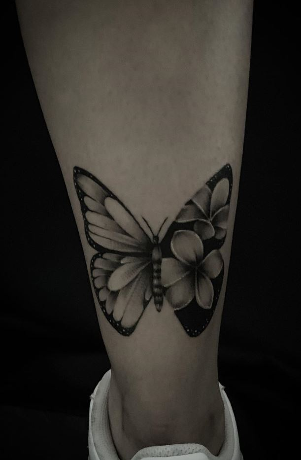 69a1e8184 Butterfly Tattoo Black And Grey - Best Image Of Butterfly Imagevet.Co