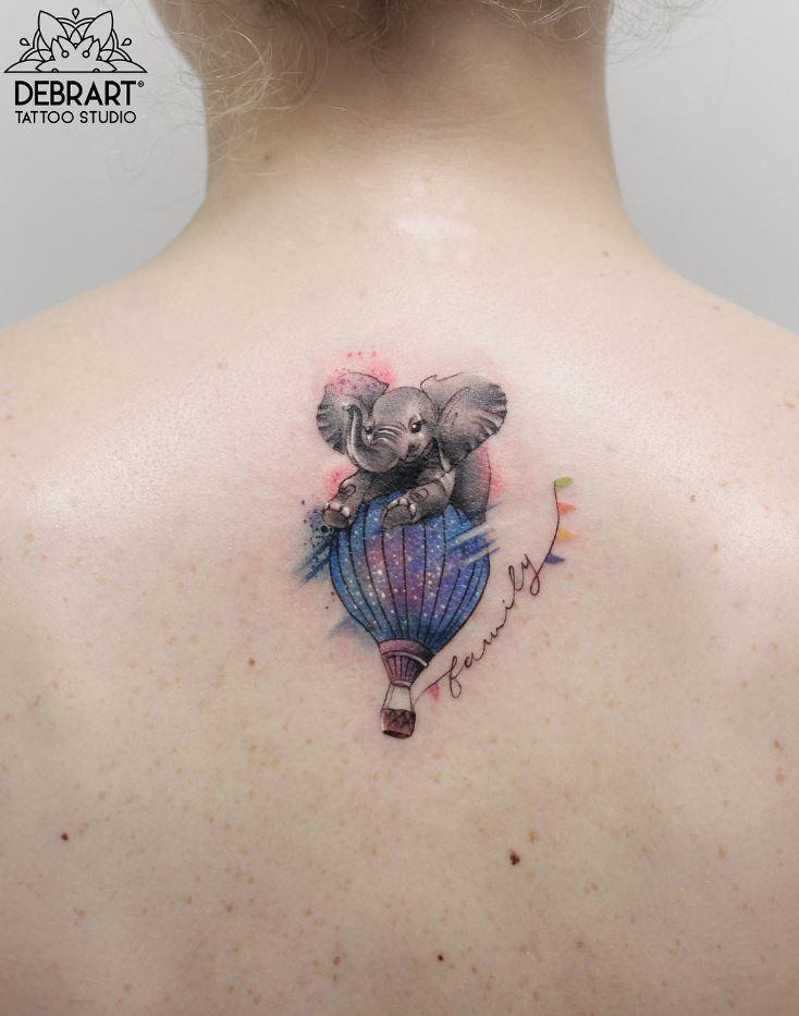 Little Elephant Tattoo
