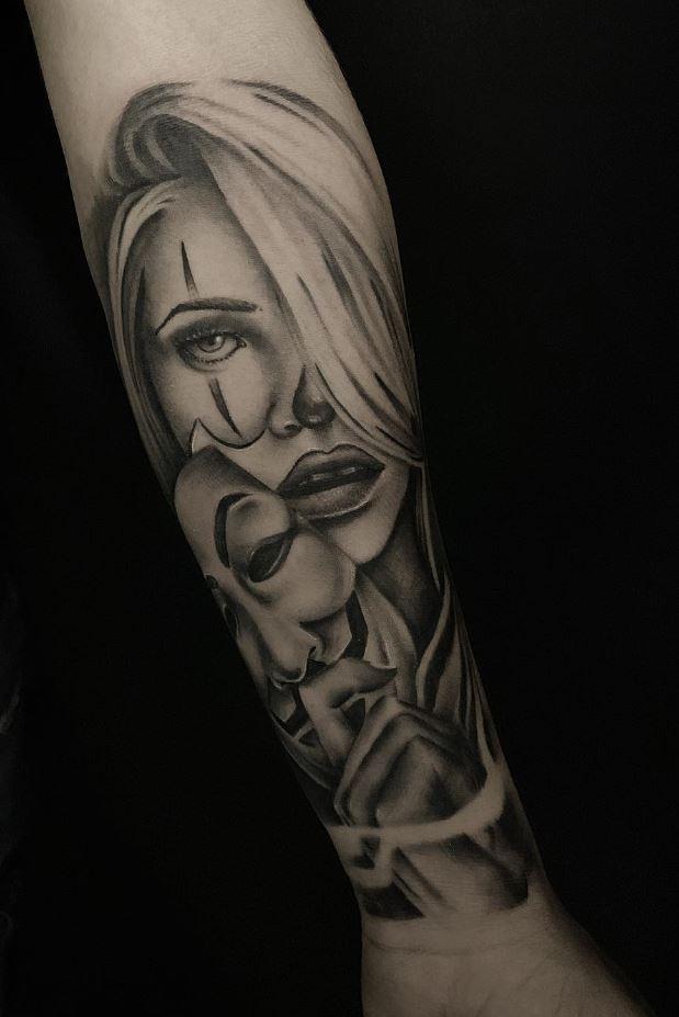 Mask Off Tattoo
