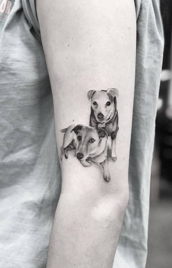 Small Dogs Tattoo