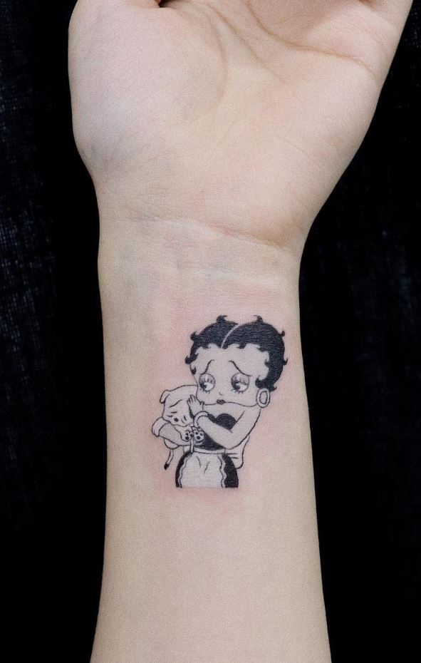 Betty Boop Tattoo