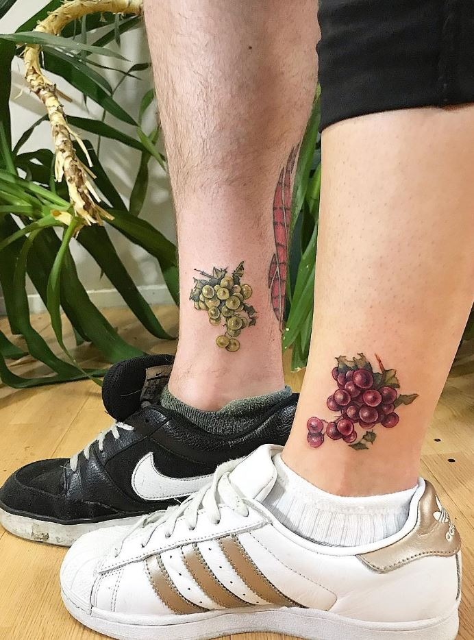 Grapes Tattoos
