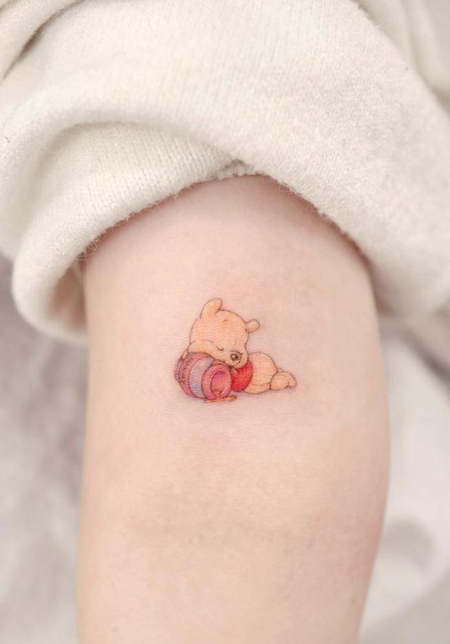 Little Winnie-the-Pooh Tattoo
