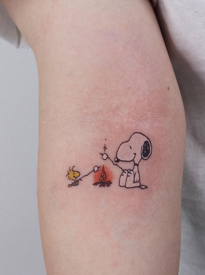 Cartoon Tattoos Archives Tattmaniatattmania