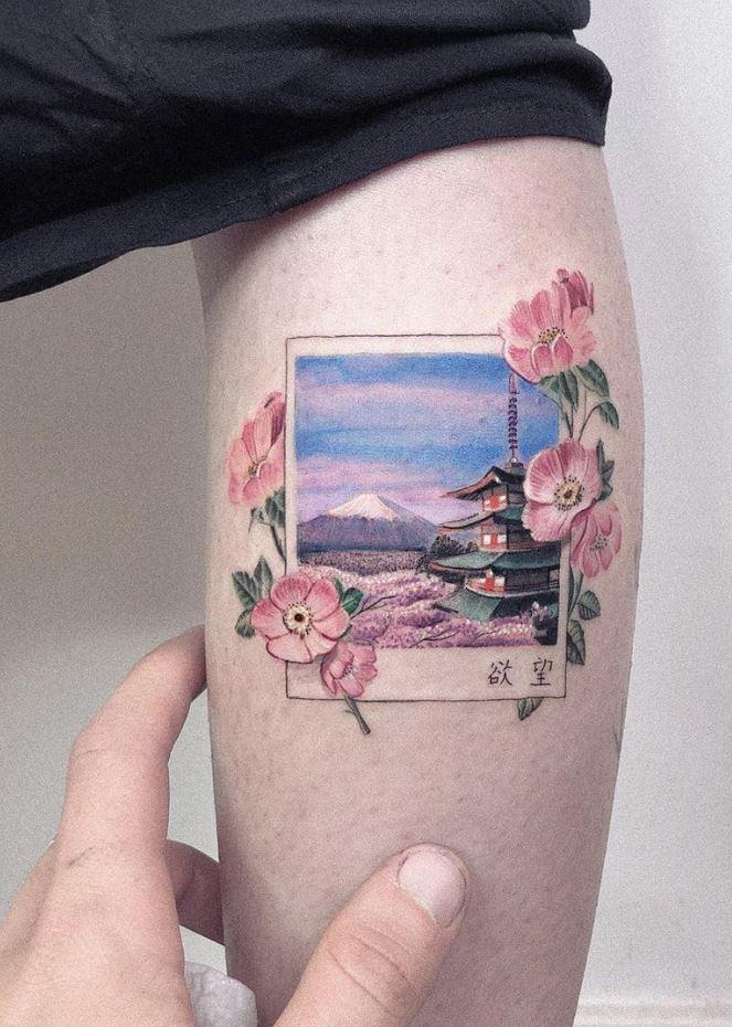 Kyoto Japan Tattoo