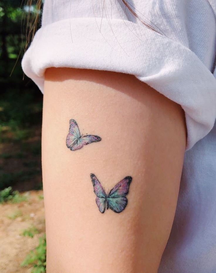 Little Butterflies Tattoo