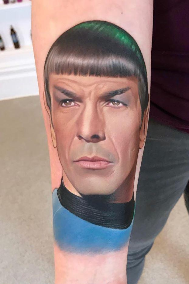 Mr. Spock Tattoo