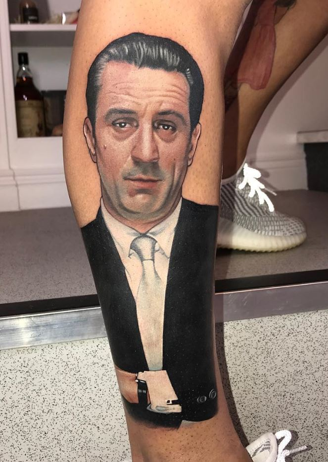 Robert De Niro As James Conway Tattoo