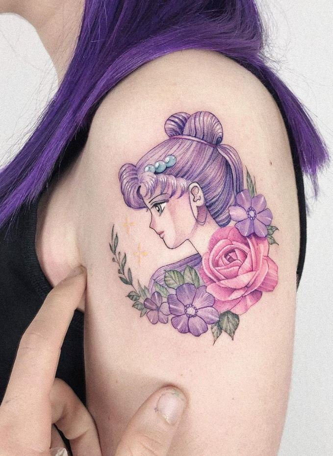 Sailor Moon Tattoo