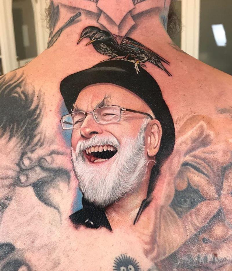 Terry Pratchett Tattoo