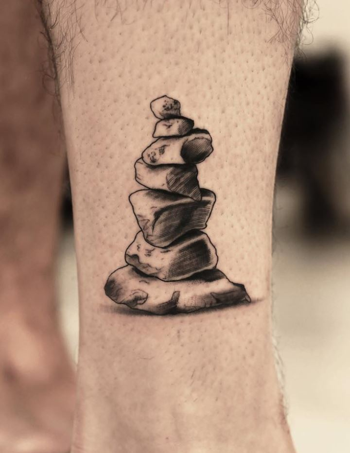 Cairn Stones Tattoo