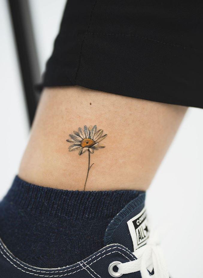 Little Daisy Tattoo