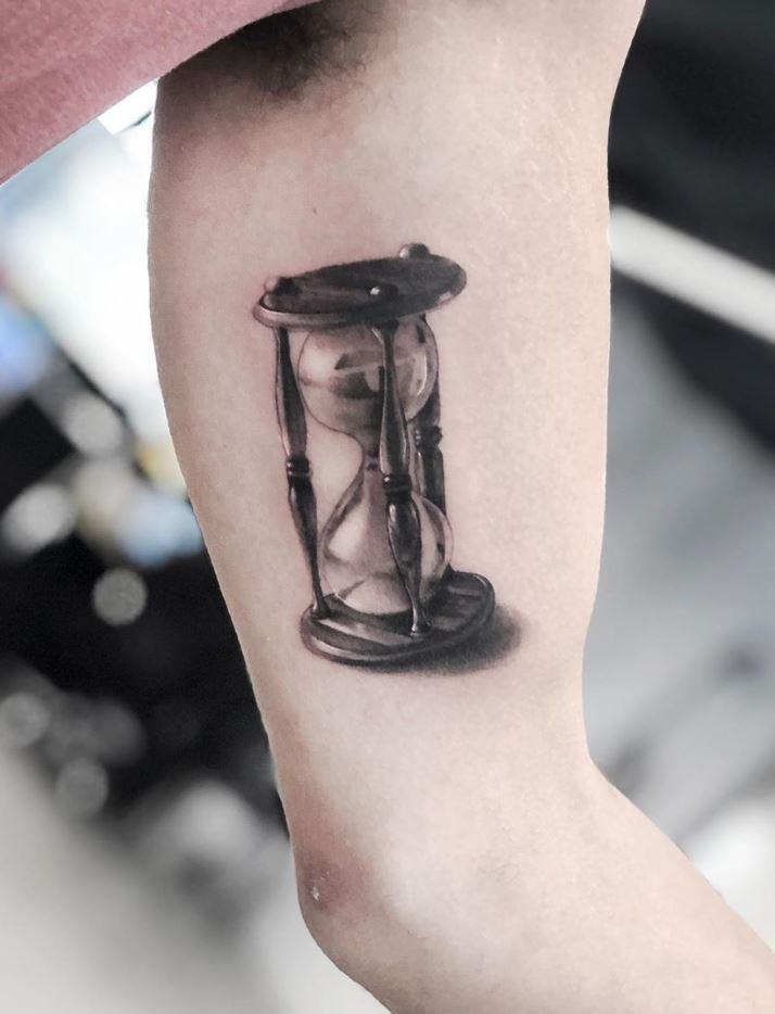 Sandglass Tattoo