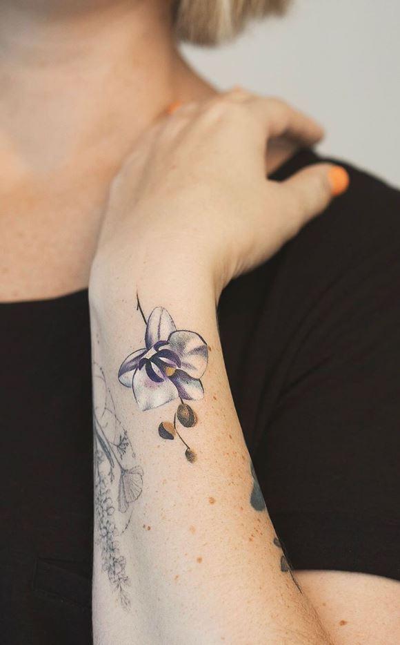 Orchid Tattoos Archives - TattManiaTattMania