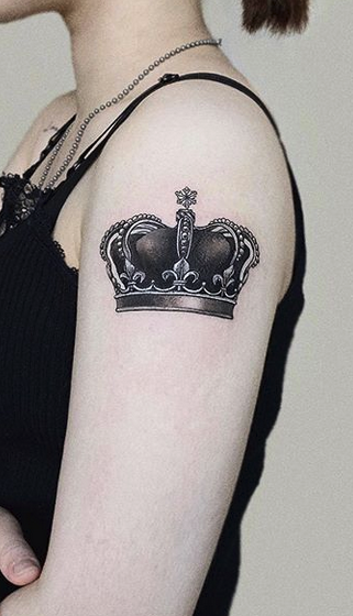 Crown Tattoo