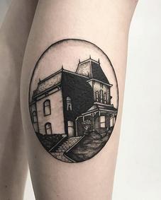 Psycho House Tattoo