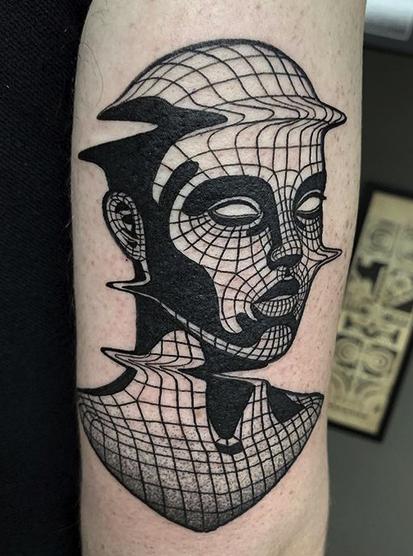 Vaporwave Tattoo