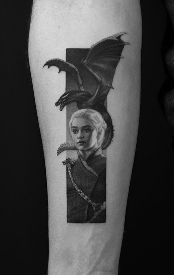Daenerys Targaryen Tattoo