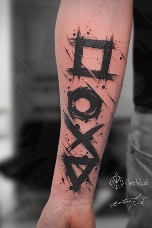Gamepad Tattoo