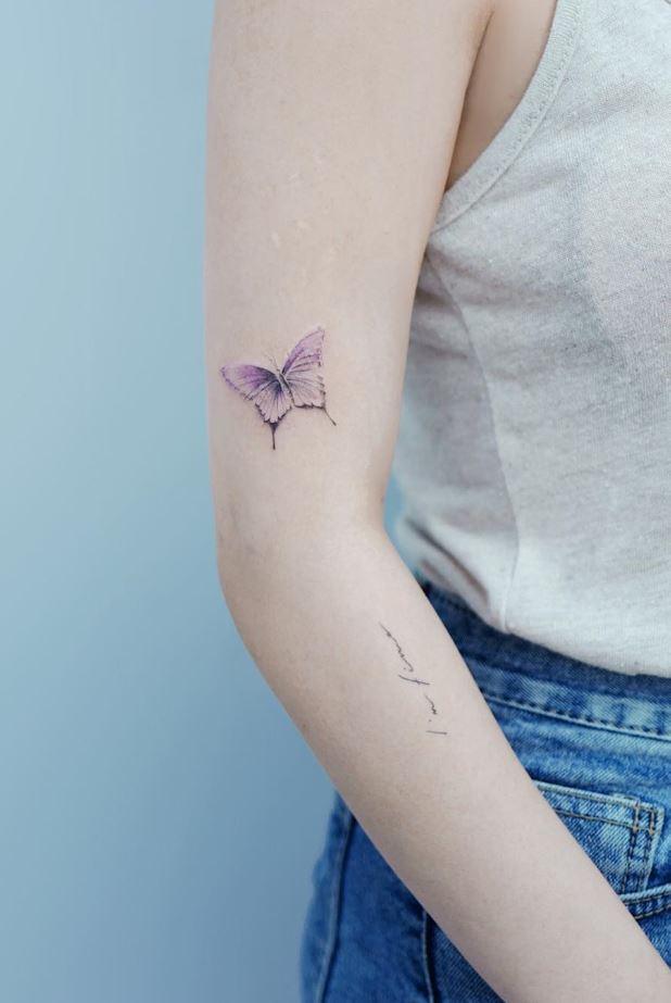 Little Butterfly Tattoo