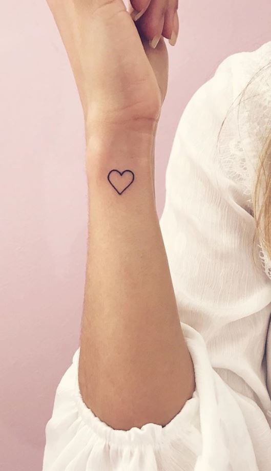 Little Heart Tattoo