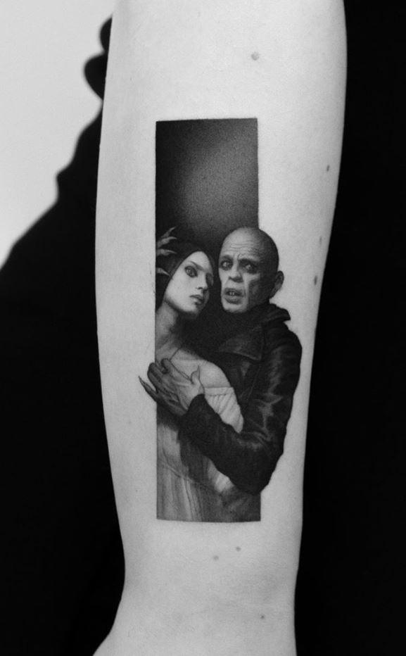Nosferatu the Vampyre Tattoo