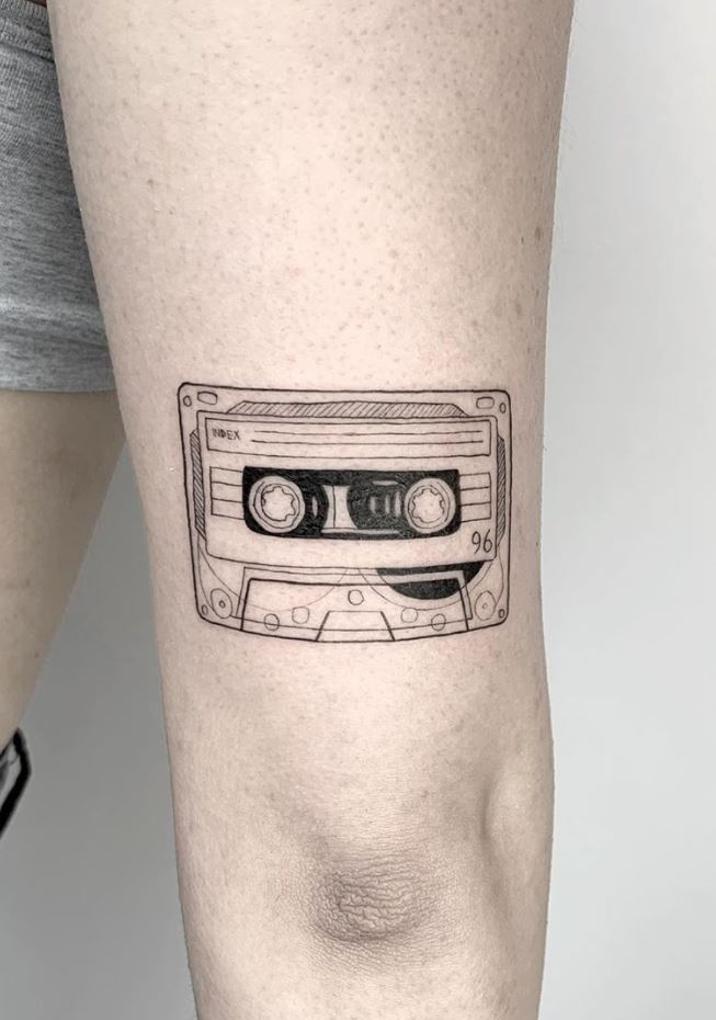Old Cassette Tattoo