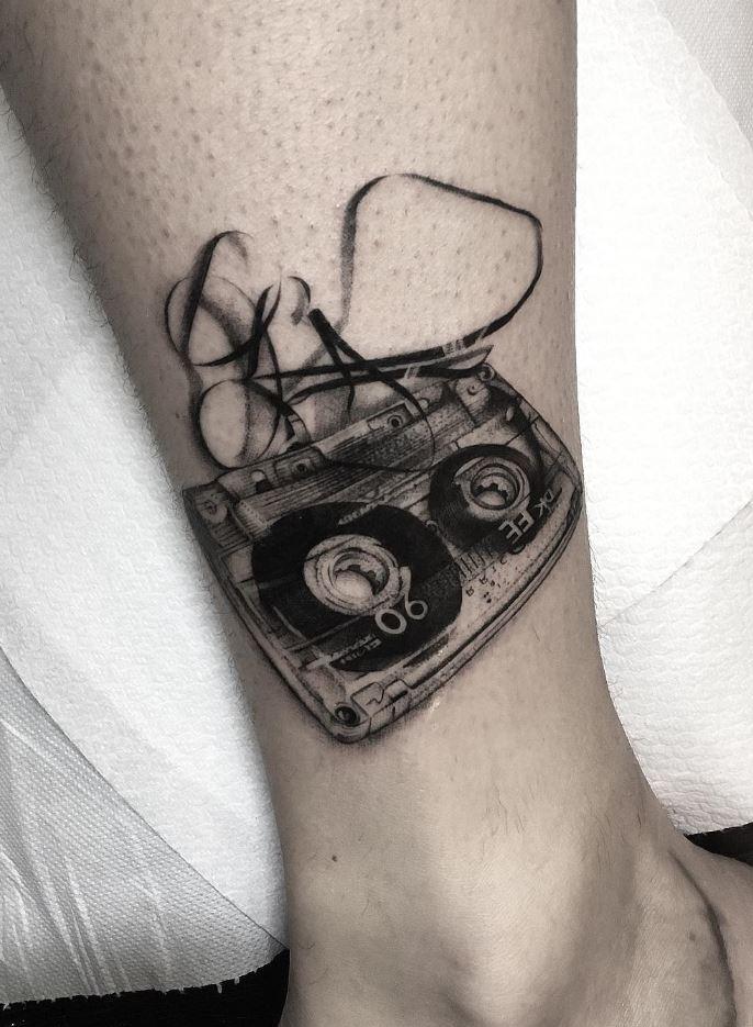 Old Tape Tattoo