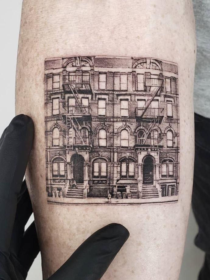 Physical Graffiti Tattoo