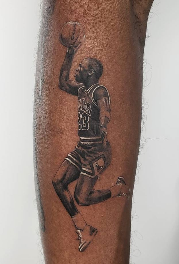 The Best Michael Jordan Tattoo