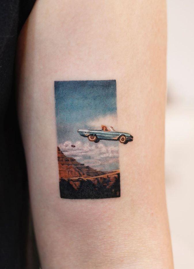 Thelma & Louise Tattoo