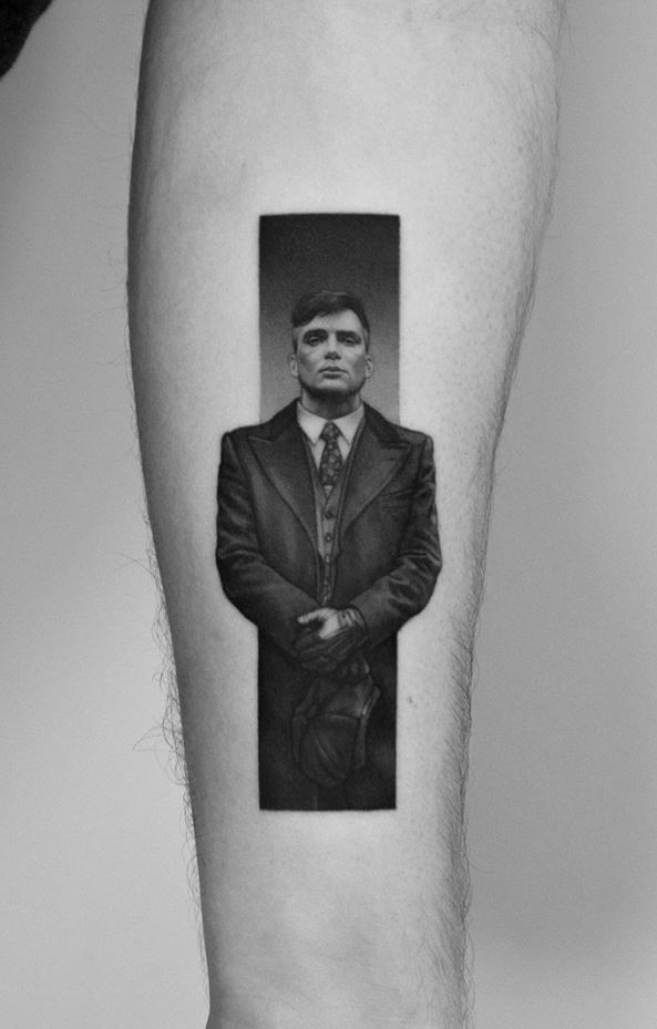 Tommy Shelby Tattoo