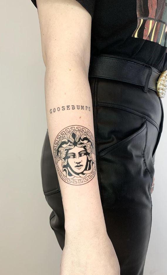 Versace Tattoo