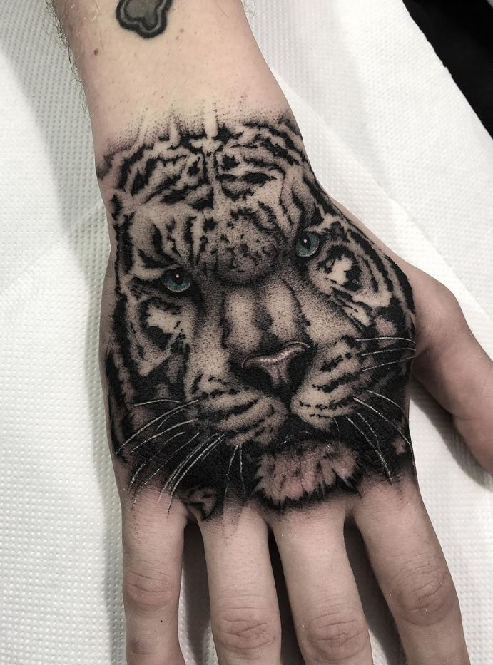 White Tiger Tattoo