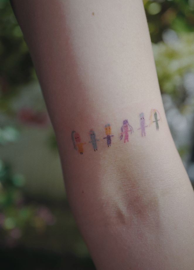 Worry Dolls Tattoo