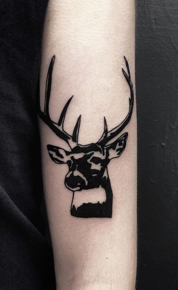 Black Deer Tattoo