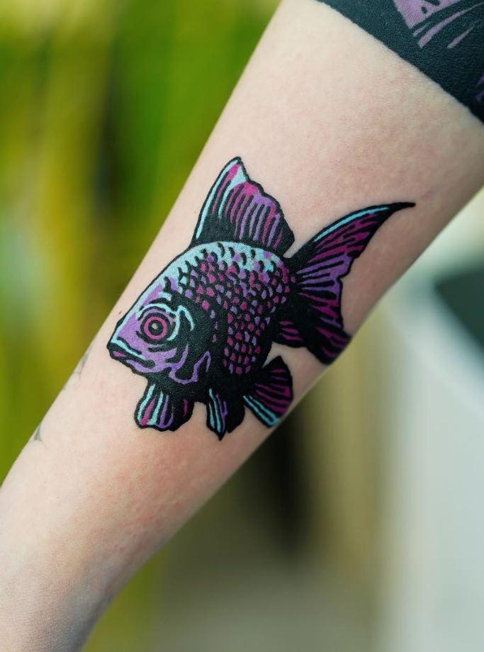 Cool Fish Tattoo