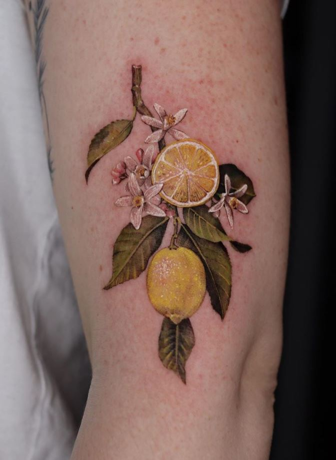 Lemon Tree Tattoo