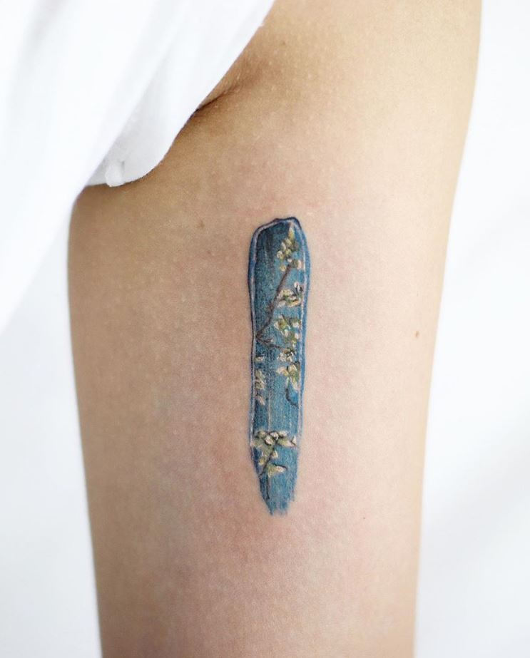 Awesome Van Gogh Tattoo