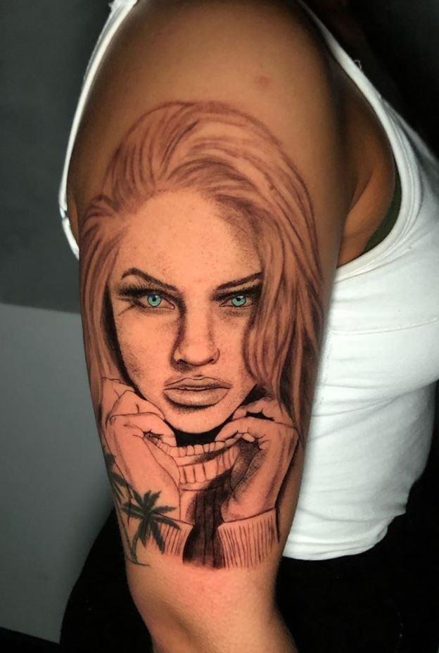Breathtaking Portrait Tattoo