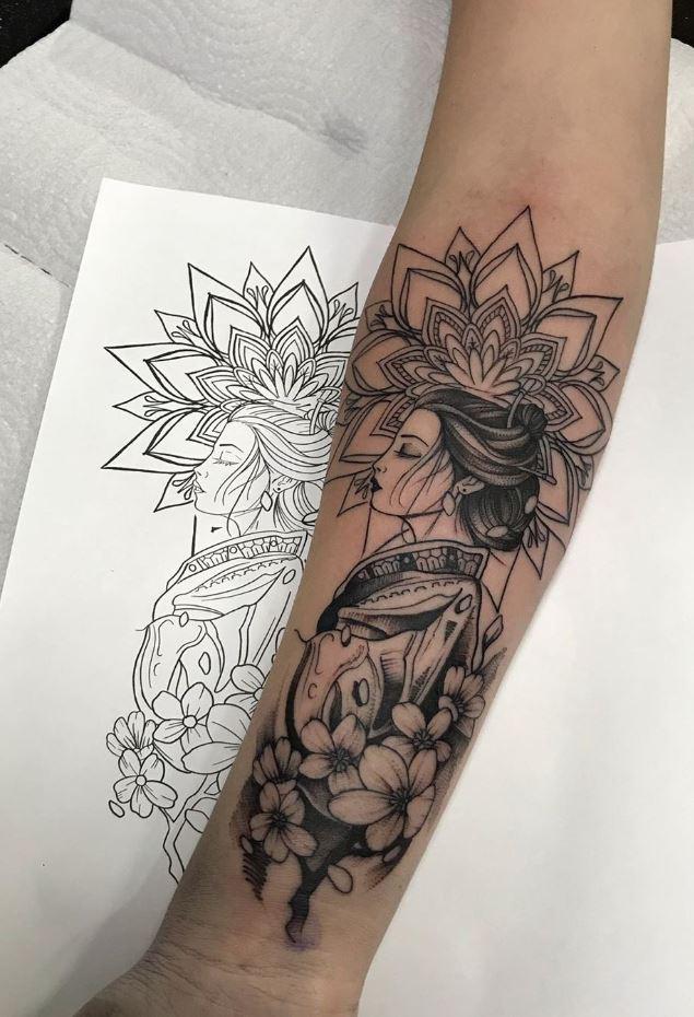 Japanese Girl Tattoo