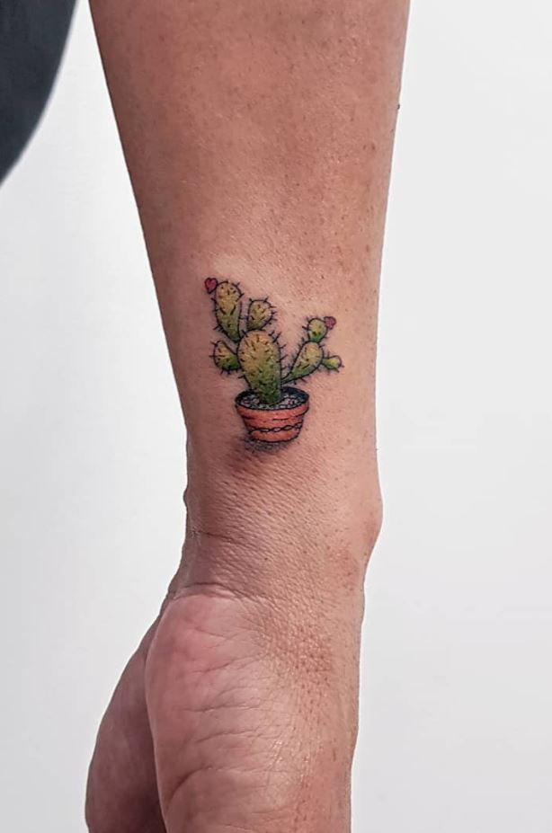 Little Cactus Tattoo