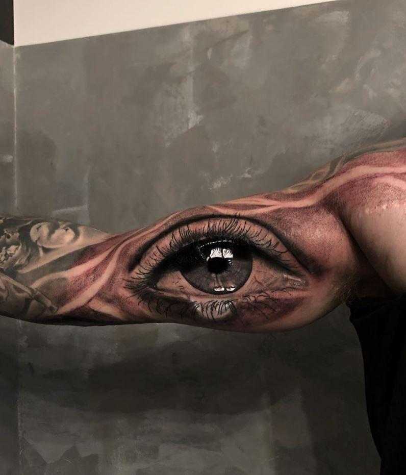 Marvelous Eye Tattoo
