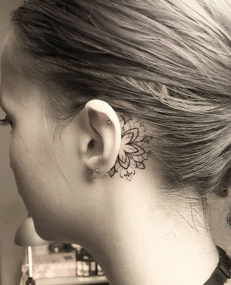 Miniature Mandala Tattoo