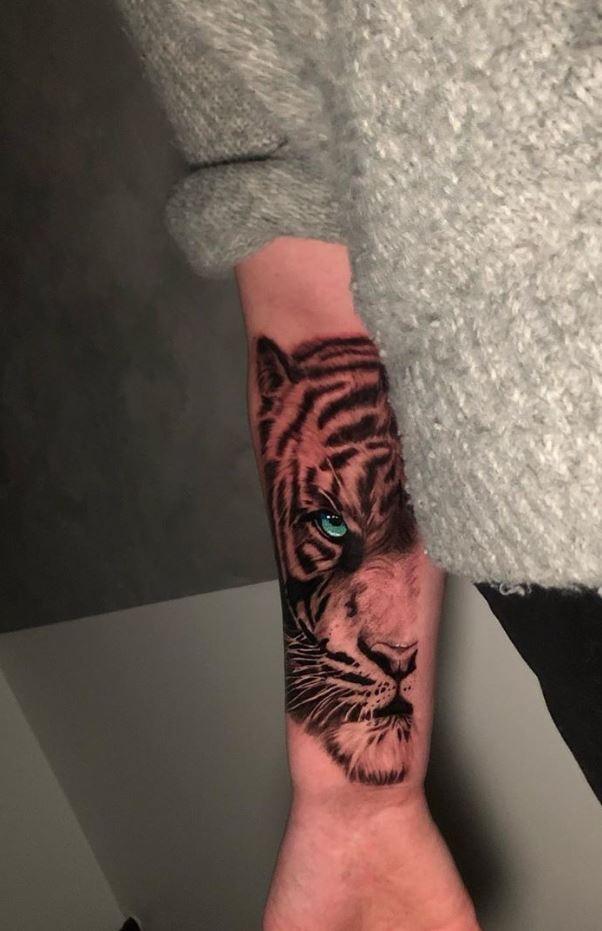 Outstanding Tiger Tattoo