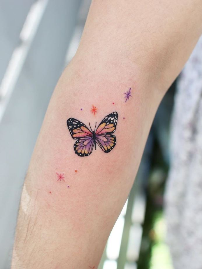 Remarkable Butterfly Tattoo