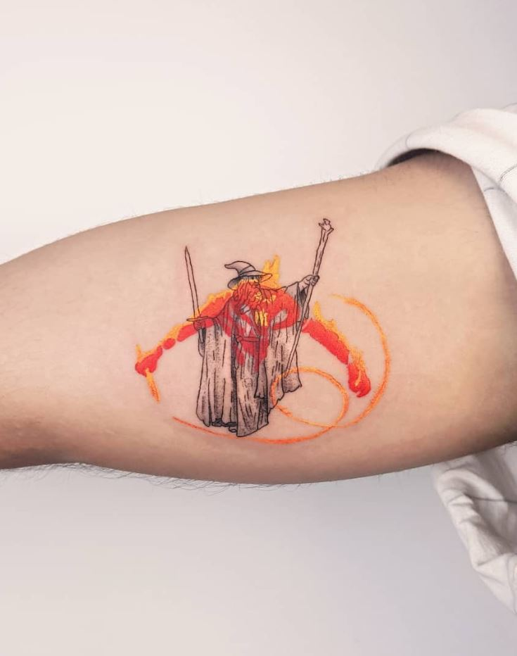 You Shall Not Pass Tattoo