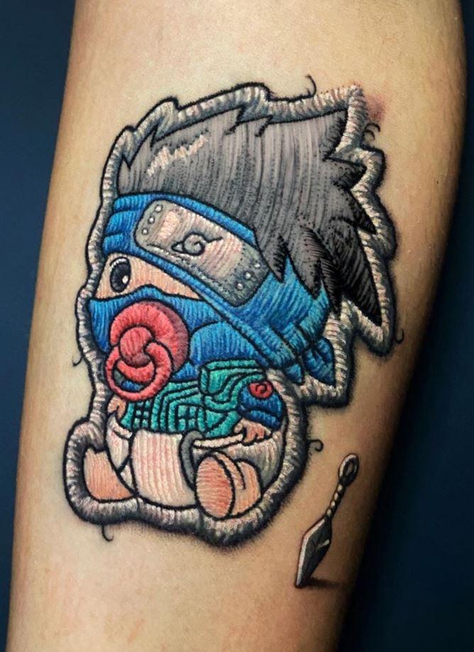 Kakashi Hatake Tattoo