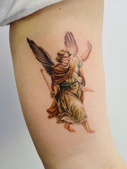 Archangel Gabriel Tattoo