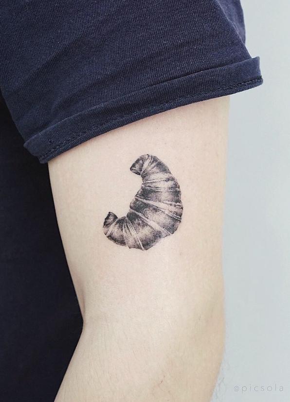Croissant Tattoo